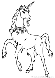Small Picture Unicorn Coloring Pages free For Kids
