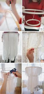 diy girly room decor pinterest. 10 beautiful diy chandelier projects. fabric chandelierchandelier ideasunique diy girly room decor pinterest l