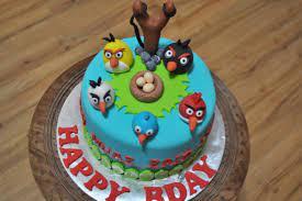 Birthday Cakes Wonderful Teal Angry Birds Birthday Cake Decorating Idea  With Coloful Birds Innovative Angry Birds Birthday Cake Decorating Ideas Angry  Birds Foto von Lou36 | Fans teilen Deutschland Bilder