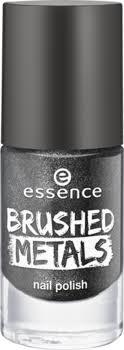 Essence. <b>Лак для ногтей</b> - <b>brushed</b> metals nail polish, серый ...