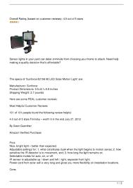 Sunforce Solar Light Extension Cord Sunforce 82156 60 Led Solar Motion Light