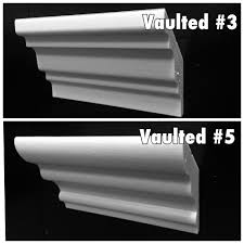 Arched Crown Moulding 4 1 2 Vaulted Crown Molding Corners Foam Crown Molding