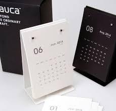 2016 desk calendar memopadcalendar black white by dubudumo