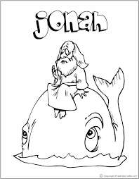 Jonah Coloring Pages At Getdrawingscom Free For Personal Use