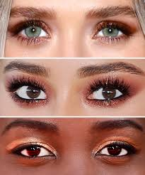 Eyeshadow Color Combination Chart The Best Eyeshadow Shade To Try For Your Skin Tone Instyle Com