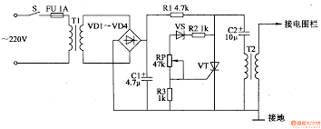 fence charger schematic how to make fence schematic for a parmak s e 3 fence charger home garden guides
