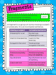 Sentence Fragment Worksheet Middle School Worksheets for all ...