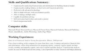 Financial Analyst Resume Objective Financial Analyst Skills Resume Financial Analyst Resume Sample 37
