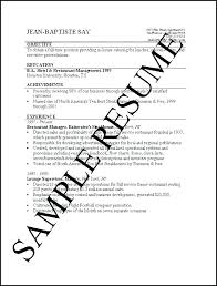 Example Of Basic Resumes Basic Resume Sample Format Name Simple Resume Sample Format Pdf
