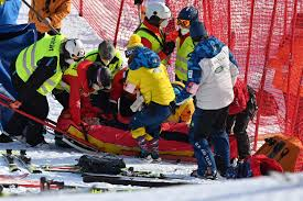 American Tommy Ford airlifted to hospital after serious crash in giant  slalom race