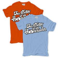 T Shirt Das Wetter Ist Ein Hurensohn Lustige Sprüche Spruch Spass