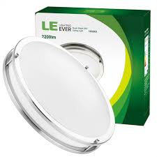 dimmable 26w 16 inch flush mount led kitchen ceiling lights 5000k daylight white le