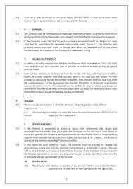 Free Service Contract Template Directors Service Contract Template Uk Free 2 3 Level Agreement