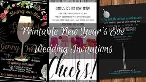 new years eve 2015 invitation. Modren Invitation Printable New Years Eve Wedding Invitations To 2015 Invitation