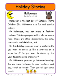 Halloween | Education | Pinterest | Reading comprehension ...