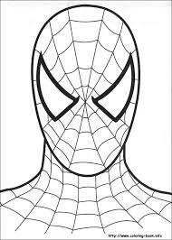 Spiderman Coloring Pages Pdf At Getcoloringscom Free Printable