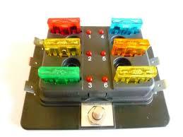 fuse boxes individual l e d blown fuse indicator available fuse boxes individual l e d blown fuse indicator<br> available in 4 6