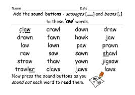 Easy to follow information and instructions; Phase 5 Aw Grapheme Selection Of Activities And Presentation Teaching Resources