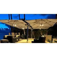 ocean master max dual cantilever square umbrella