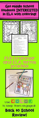 best seconday ela grammar images high school  grammar fun bundle 10 color by code grammar activities
