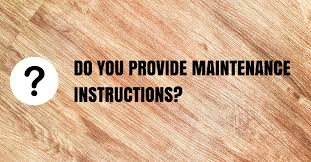 those provided by the flooring manufacturer if there are any issues down the road you need to know who will be responsible for correcting the problem