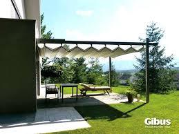 pergola with retractable canopy retractable fabric retractable pergola awnings uk