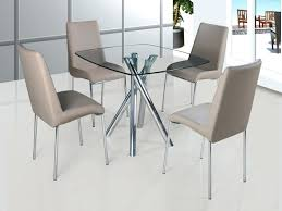 round glass dining table set for 4 amazing glass dining table and chairs set round dining