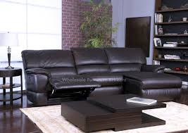 black leather reclining sofa. Lovely Leather Sectional Sofa With Recliner Power Reclining Throughout For Comfy Black