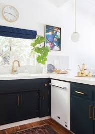 kitchens with white appliances and white cabinets. If You Are Not A Fan Of All White Kitchens, Incorporating Colour Into Your Cabinetry Is The Perfect Way To Make Kitchen Pop And Give It Some Kitchens With Appliances Cabinets