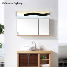 bathroom makeup lighting. contemporary lighting wall lamp led mirror front waterproof antifog modern bathroom lights  40cm14w ac110260v stainless steel makeup in bathroom makeup lighting
