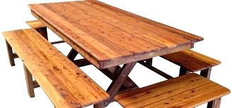 round outside table wooden outside table wooden outdoor table bench timber furniture outdoor tables chairs wooden