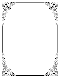 Moldura Para Word Baixar Image Result For Beautiful Border Clip Art Download For Ms