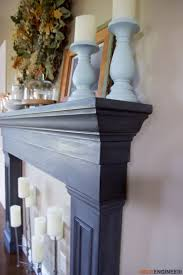 Diy Mantels For Fireplaces Best 25 Faux Fireplace Mantels Ideas Only On Pinterest Fake