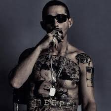 Shia labeouf started acting at a very young age, and his career really took off after his appearance as louis stevens in the disney channel series even stevens. The Tax Collector Shia Labeouf Tattooed His Entire Chest For New Movie
