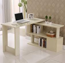 table rotating desktop computer desk corner minimalist home study tables