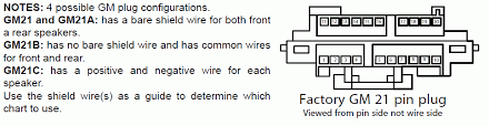 Cadillac Car Radio Stereo Audio Wiring Diagram Autoradio