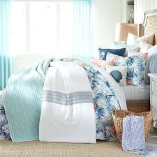 coastal duvet cover palm twin reversible mini quilt set beach themed covers nz