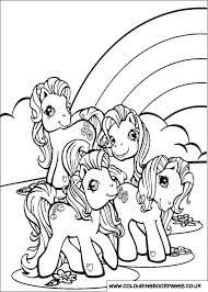 My Little Pony Colouring Pages 28 Kids Paintable Downloads