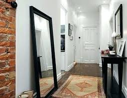 white leaning floor mirror. Contemporary Mirror Leaning  On White Leaning Floor Mirror I