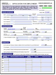 Generic Blank Job Application Printable Blank Employment Application Form Download Them Or Print