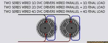 subwoofer wiring diagram dual 1 ohm subwoofer single dvc 4 ohm wiring on subwoofer wiring diagram dual 1 ohm