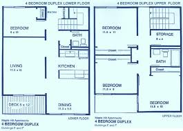4 Bedroom Apt Floor Plan