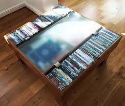 dvd storage coffee table