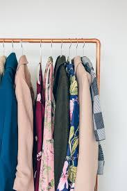 diy copper pipe clothing rack