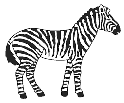 Small Picture zebra coloring pages 14