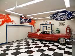 checkerboard racedeck diamond garage floor
