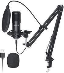 USB Mikrofon, SUDOTACK professionelles podcast mikrofon 192KHZ/24Bit Studio  Cardioid-Kondensatormikrofon-Kit mit Soundkarte Boom Arm Shock Mount  Pop-Filter für Skype, Rundfunk, Youtube,Podcasts uvm : Amazon.de: Musical  Instruments & DJ