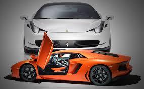 sports cars lamborghini ferrari. Modren Cars Ferrari Vs Lamborghini Inside Sports Cars A