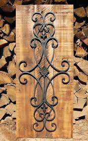 large wrought iron wall art large metal wall art black metal wall art silver metal wall