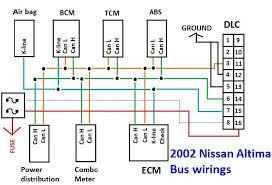 free troubleshooting tip for 2002 nissan altima mil light problem! Nissan Altima Wiring Diagram 2002 nissan altima bus module wires nissan altima wiring diagram pdf